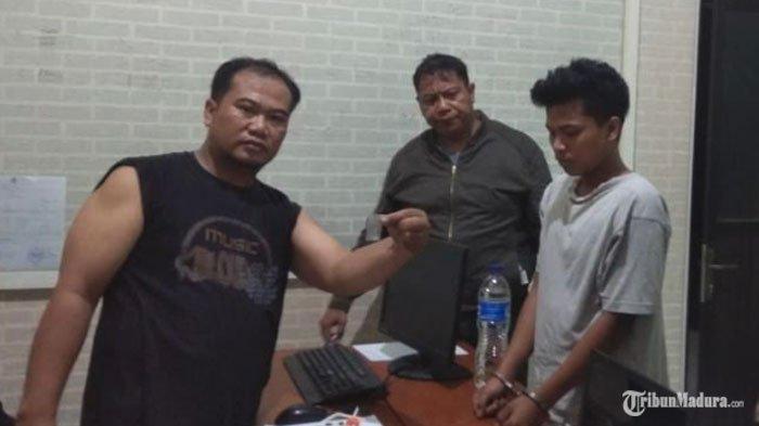 Pemuda Pengangguran di Malang Pengguna Sabu, Ditangkap Polisi saat Berada dalam Rumah