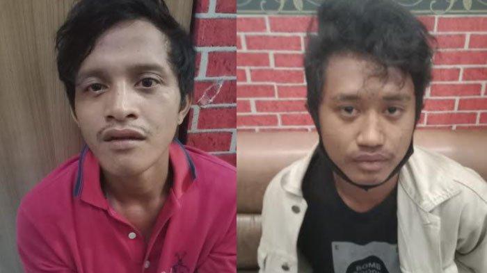 Candu Sabu Tapi Tak Punya Uang, Dua Sahabat Pengangguran Kompak Menjambret, Beraksi di 12 Lokasi