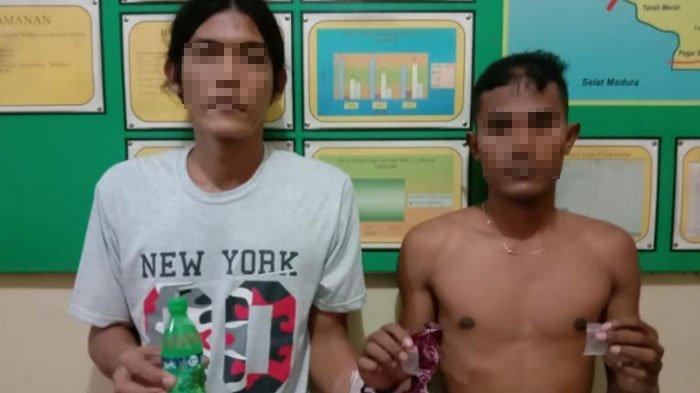 Nekat Gelar Pesta Sabu saat Pandemi Covid-19, Dua Warga Saronggi Sumenep ini Diringkus Polisi