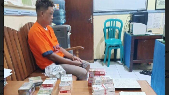 Pria asal Ponorogo ini Dikenal sebagai Pencuri Spesialis Rokok, Menyamar Jadi Pembeli saat Beraksi