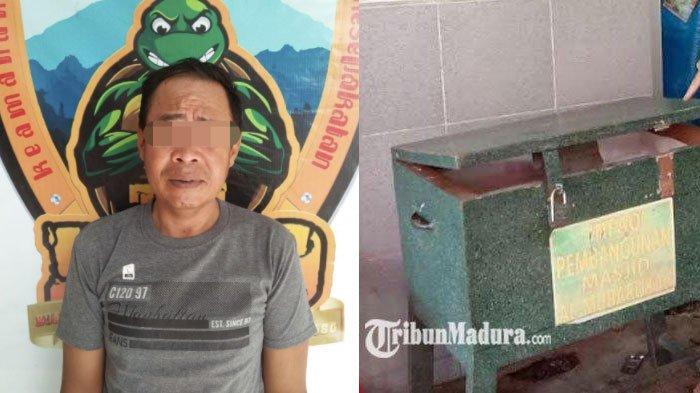 Pura-Pura Jadi Jemaah, Pria Pengangguran Curi Uang Rp 78 Ribu dari Kotak Amal Musala Pakai Sapu Lidi