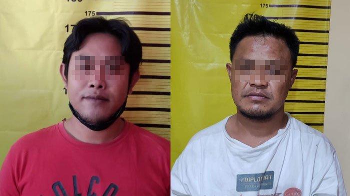 Terekam CCTV, Dua Pria di Surabaya Bawa Pulang Anak Tangga Milik Orang, Awalnya Keliling Naik Motor