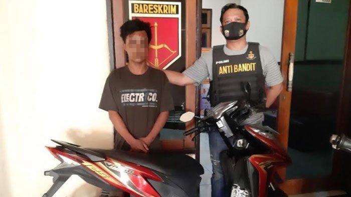 Ditinggal Kabur Teman ke Madura, Maling Motor di Surabaya Jadi Bulan-Bulanan Warga yang Geram