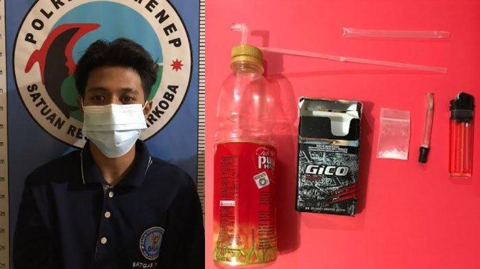 Pemuda Sumenep Ditangkap di Eks Gedung Sekolah, Simpan Barang Haram di Bungkus Rokok