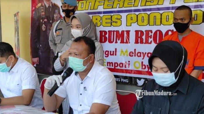 Penjual Pentol di Ponorogo Curi Motor Warga, Manfaatkan Kelengahan Pemilik Tak Cabut Kunci Kontak