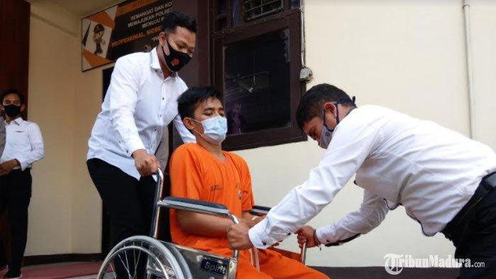 Spesial Pencurian Uang Antar Kota Ditangkap, Biasa Beraksi di SBPU, Kini Pasrah Duduk di Kursi Roda