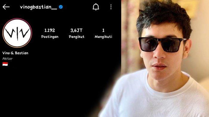 Relationship Goals? Vino G Bastian Hanya Follow Akun Instagram Istri, Begini Alasan Sebenarnya