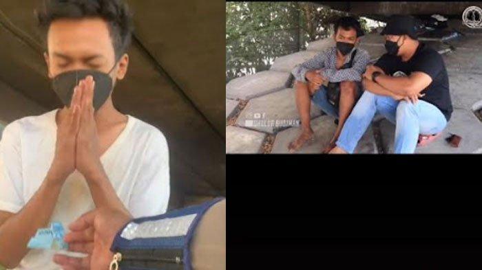 TERKUAK, Beda Fakta Video Viral Pemuda Sebatang Kara Tinggal di Kolong Jembatan, Simak Penjelasannya