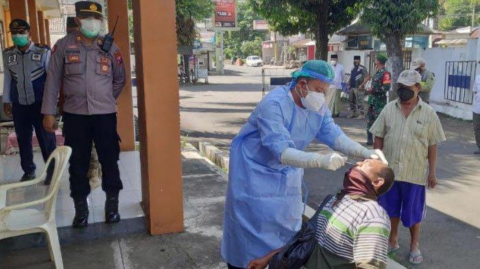 Pekan Pertama PPKM Darurat di Jember, Masih Ditemukan Warga Tak Pakai Masker saat di Luar Rumah