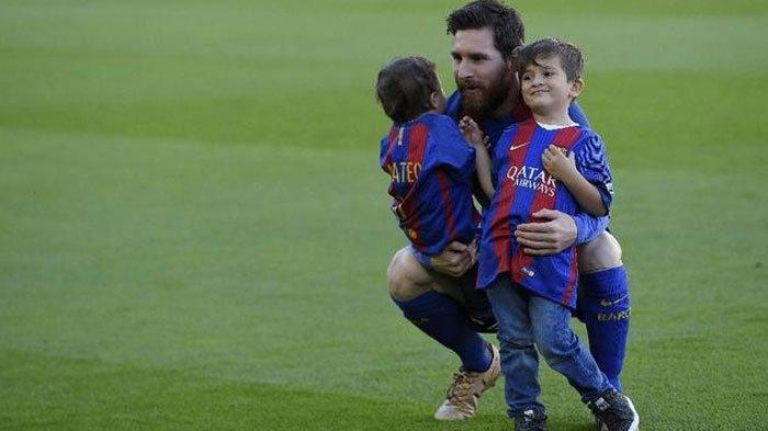Idola Sang Putra Lionel Messi, ada 6 Pemain Favorit, Mulai dari Mbappe Hingga Cristiano Ronaldo