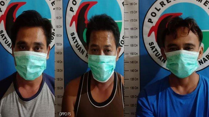 Empat Budak Sabu di Lenteng Sumenep Dibekuk Polisi, Semua Tersangka Ditangkap di Tempat Berbeda