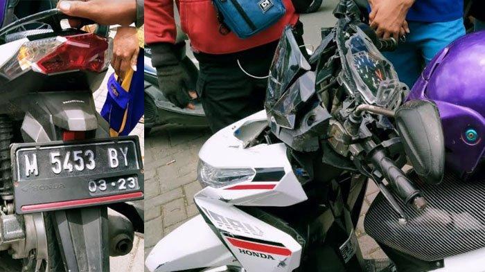 Kecelakaan Beruntun di Jalan Tlanakan Pamekasan, Berawal dari Pemotor Tabrak Truk Tangki Pertamina