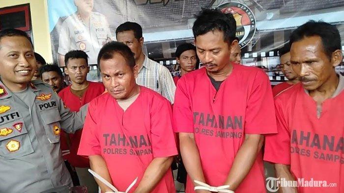 Bawa Senjata Tajam Celurit saat Bepergian, Tiga Petani di Sampang Terancam Hukuman 10 Tahun Penjara