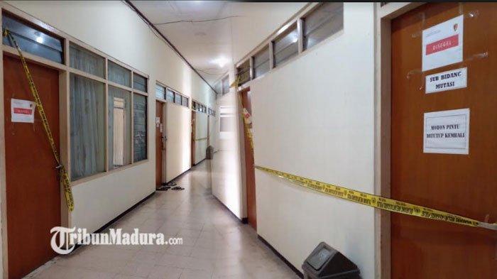 Tiga Ruangan Mutasi di Kantor BKD Disegel Pasca Bupati Nganjuk Novi Rahman Hidayat Terkena OTT KPK