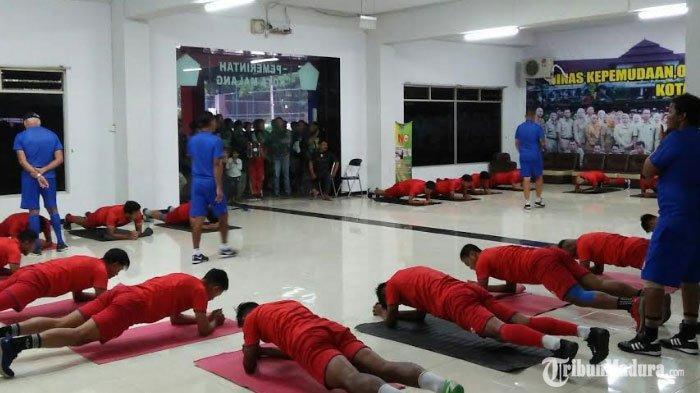 Latihan Individu saat Bulan Puasa, Pemain Arema FCDiminta Atur Pola Makan Agar Badan Tak Melar