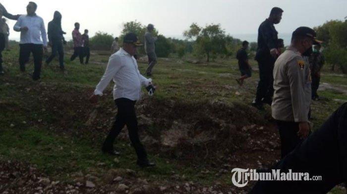 Tim Biro Kelembagaan dan Tata Laksana (Rolemtala) Srena Mabes Polri melakukan kunjungan ke Kabupaten Sampang, Madura, Kamis (26/11/2020) siang.