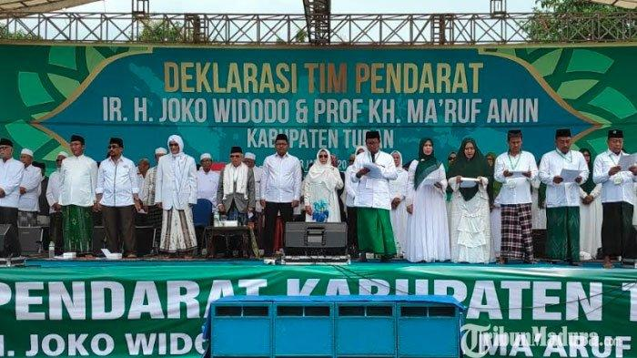 Tim Pendarat Jokowi-Maruf Amin Optimistis Raup 99 Persen Suara di Tuban pada Pilpres 2019