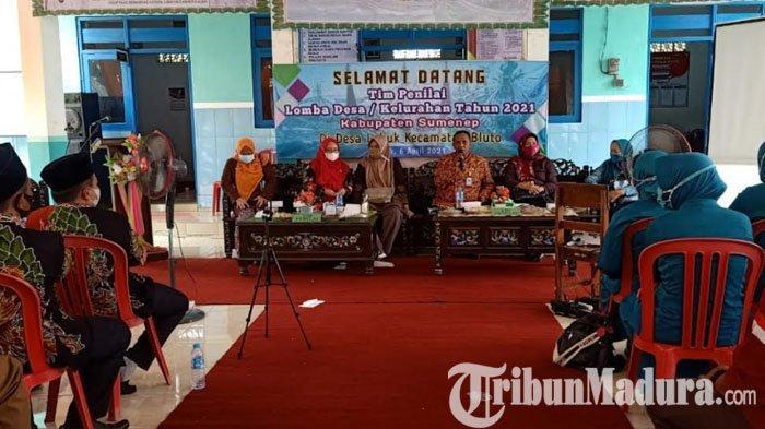Raih Juara I Lomba Desa Tingkat Kabupaten, Pemdes Lobuk Wakili Sumenep Berkompetisi di Jawa Timur