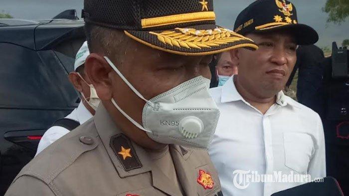 Mabes Polri Bersama Bupati Sampang Tinjau Langsung Lokasi Pembangunan Batalyon D Brimob Polda Jatim