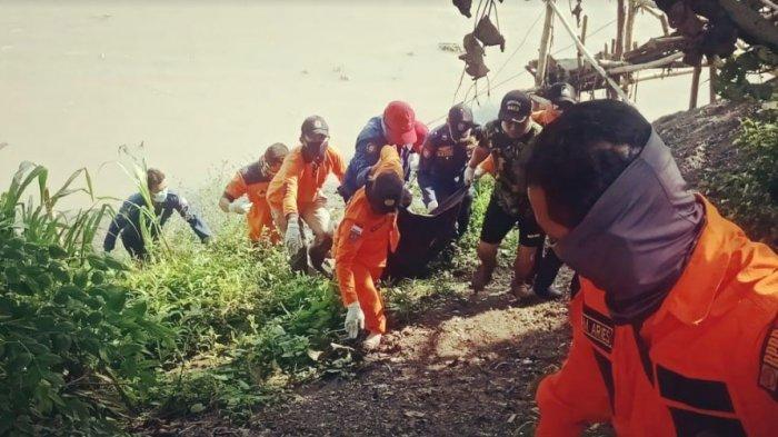 BREAKING NEWS - Pria yang Tenggelam di Sungai Bengawan Solo Bojonegoro Ditemukan Meninggal Dunia