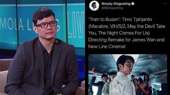 Biodata Timo Tjahjanto, Sineas Tanah Air yang Ditunjuk Jadi Sutradara Train to Busan Versi Hollywood