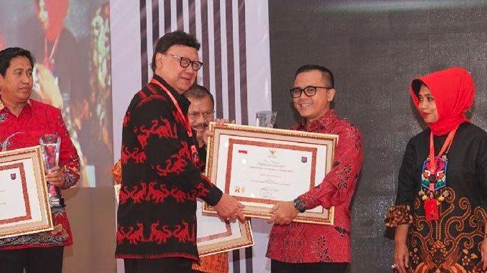 Banyuwangi Raih Penghargaan Kabupaten Terinovatif dariKementerian Dalam Negeri