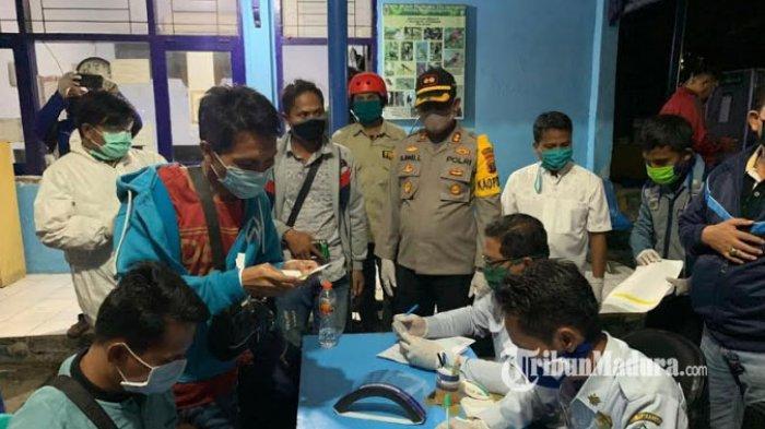 200 TKI Ilegal asal Pamekasan Pulang Kampung di Masa Pandemi Covid-19, Mereka Diliburkan & Kena PHK