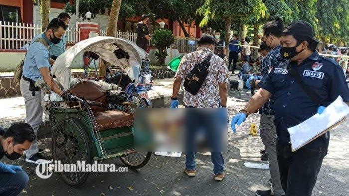 Tragedi Berdarah di Alun-Alun, Perkara Uang Berujung Cekcok Sesama Tukang Becak, ini Kondisi Korban