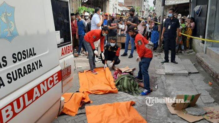 BREAKING NEWS - Seorang Pria di Surabaya Ditemukan Tewas Bersimbah Darah, Diduga Korban Pembunuhan