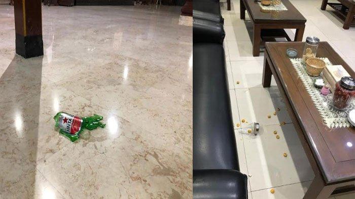 BREAKING NEWS: DETIK-DETIK Anggota DPRD Marah Besar, Banting Botol Bir Saat Cari Bupati Tulungagung