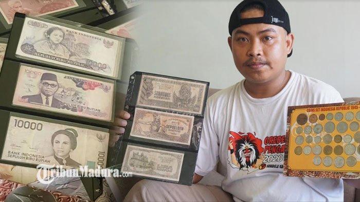 Uang Langka Rp 100 Ribu Laku Dijual Rp 40 Juta, Simak Kisah Kolektor Uang asal Ponorogo ini