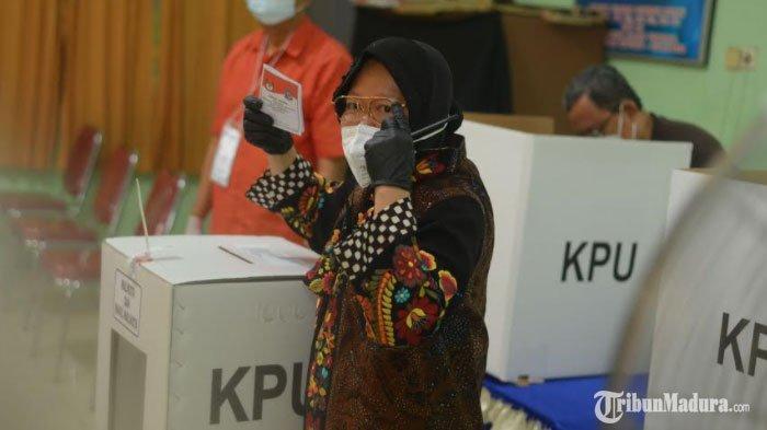 Hasil Pilkada Surabaya 2020: Risma Senang Eri Cahyadi - Armuji Menang Berdasar Hitung Cepat
