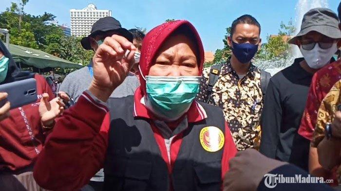 Risma Klaim Covid-19 di Surabaya Lebih Terkendali, Singgung Angka Kesembuhan dan Kedisiplinan Warga