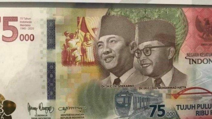 Penukaran Uang Baru Pecahan Rp 75.000 di Kota Malang Dibatasi Per Harinya, Simak Syarat dan Waktunya