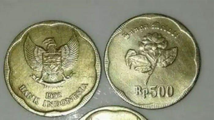 Uang Koin Rp 500 Bisa Laku Ratusan Ribu Rupiah di Toko Online, Karena Mitos Koin Mengandung Emas?