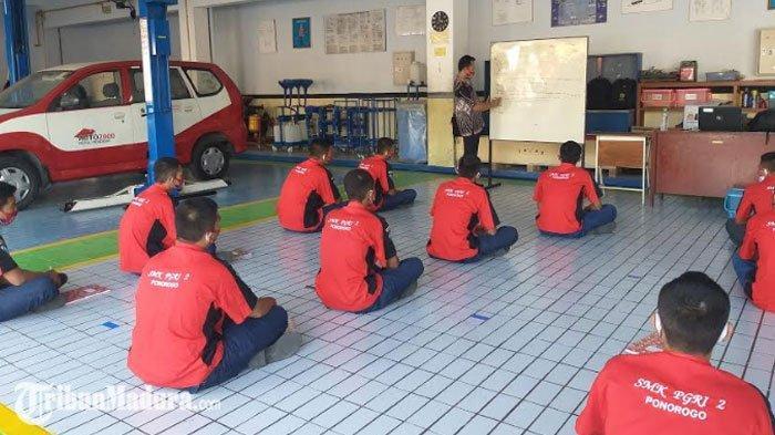 Sejumlah Sekolah di Ponorogo Uji Coba Pembelajaran Tatap Muka, 3 SMA dan SMK Segera Menyusul