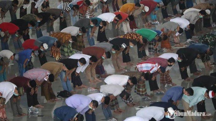 Kabar Bahagia! Masyarakat Jawa Timur Bisa Kembali Salat Jumat di Masjid saat MemasukiNew Normal