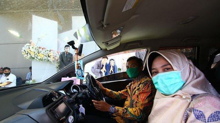 Inspirasi Resepsi Pernikahan di Tengah Pandemi, Drive Thru hingga Salam Tempel Pakai Uang Elektronik