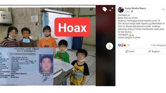 VIRAL,5 Anak Bersaudara Yatim Piatu Diduga Karena Corona, Ditolak Panti Asuhan Karena sebuah Fakta