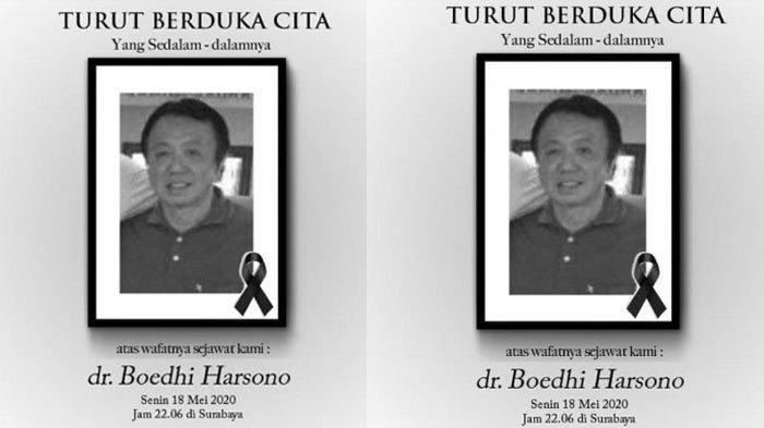 Dokter RS National Hospital Surabaya Meninggal Dunia Terjangkit Covid-19, Kondisi Istri Kritis