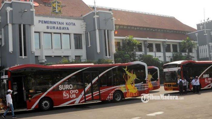 Suroboyo Bus Kini Dilengkapi dengan Sejumlah Fasilitas Baru, Mulai Bayar Tiket hingga Announcer