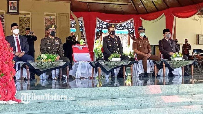 Kapolres Pamekasan Maknai Hari Kesaktian Pancasila Sebagai Simbol Pemersatu Bangsa Indonesia