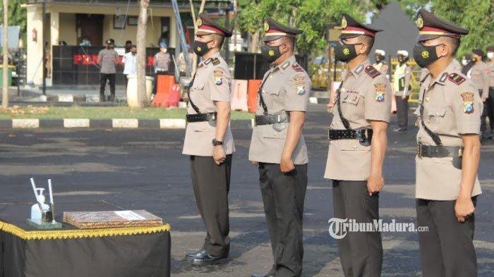 Tiga Kapolsek di Sampang Dimutasi, Kapolsek Kedundung Mengemban Jabatan Baru di Polres Sampang
