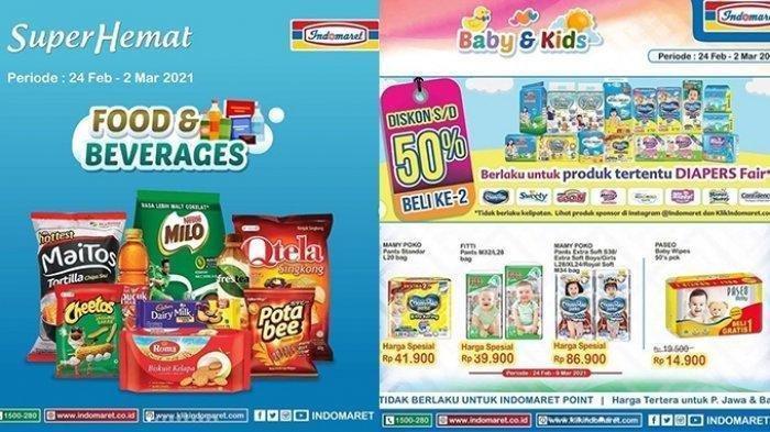 Promo Indomaret Rabu 24 Februari 2021, Dapatkan Promo Beli 2 Lebih Hemat hingga Minyak Goreng Murah