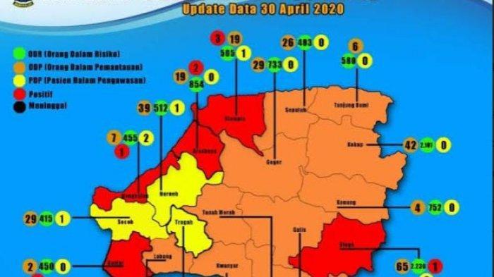 Bertambah 2, Pasien Terkonfirmasi Positif Covid-19 di Bangkalan Madura Mencapai 11 Orang