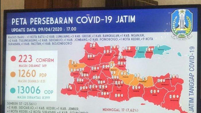 Bangkalan Zona Merah, 1 PDP Terkonfirmasi Positif Covid-19, Kandinkes Ungkap Kondisi Pasien