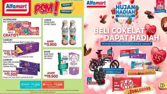 Katalog Promo Alfamart 15 Februari 2021, Promo Beras Murah, Serba Gratis dan Valentines Milk Fair