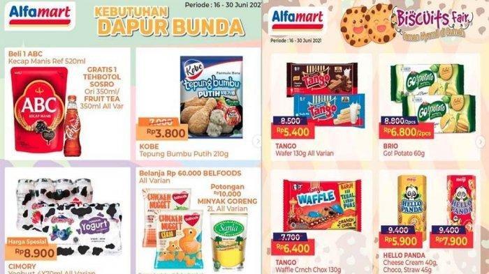 Promo Alfamart Hari Ini 24 Juni 2021, Dapatkan Potongan Harga Spesial hingga Kebutuhan Dapur Bunda
