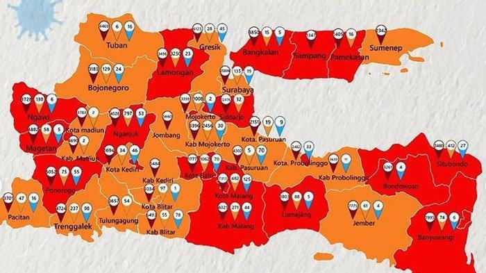 BERITA MADURA TERPOPULER HARI INI Madura Didominasi Zona Merah hingga Kasus Ujaran Kebencian Ulama