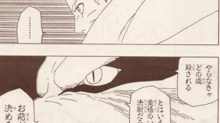 Spoiler Manga Boruto 52: Pertimbangan Naruto Mode Kyubi Terakhir,Misteri Kematian Naruto Terjawab?